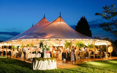 Hogyan szervezz sátras esküvőt a legjobban