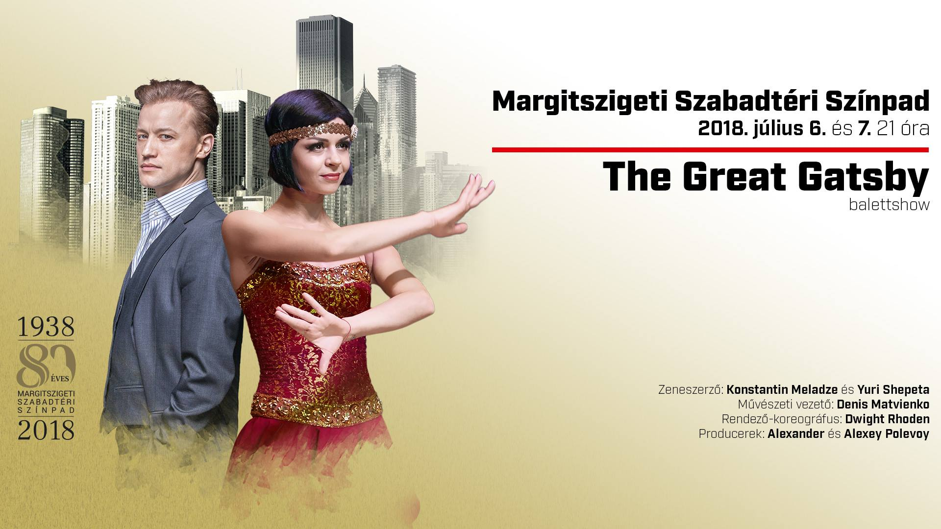 The Great Gatsby - balettshow